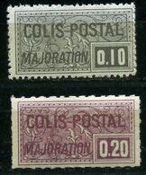 France Timbres Colis Postaux  N°  155 Et 159C  Type IV   N** - Neufs