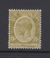 KUT, Sc 28 (SG 86), MHR - Kenya, Uganda & Tanganyika