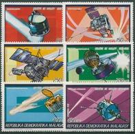 Madagaskar 1987 Halleyscher Komet Raumsonden 1058/63 A Postfrisch - Madagascar (1960-...)
