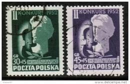PL 1952 MI 785-86 USED - Used Stamps