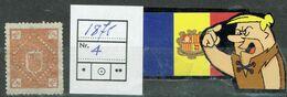 ANDORRA ANDORRE 1875 PREUVES NON EMISS Nº4 - Zonder Classificatie