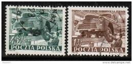 PL 1952 MI 787-88 USED - Used Stamps