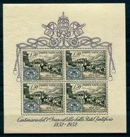 Vatikan - Michel Block 1 Ungebr.*/MH - Blocks & Sheetlets & Panes