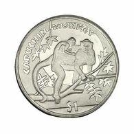 SIERRA LEONE 1 DOLLARO 2009 SCIMMIA  CAPUCHIN MONKEY - Sierra Leone
