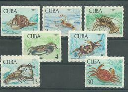 200036301  CUBA  YVERT    Nº  1275/81  **/MNH - Ongebruikt