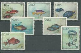 200036303  CUBA  YVERT    Nº  1294/1300  **/MNH - Ongebruikt