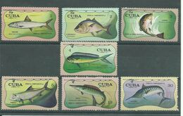 200036306  CUBA  YVERT    Nº  1526/32  **/MNH - Ongebruikt