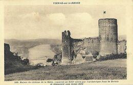 38 - Isère - VIENNE - Ruines Du Château De La Bâtie, Construit Au XIII Siècle Et Démantelé Sous Louis XIII - Vienne