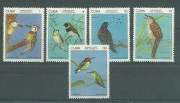 200036323  CUBA  YVERT    Nº  1987/91  **/MNH - Ongebruikt