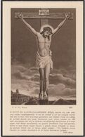 Dp. Guillaume-Joseph Bossier Wachtmeester Der Rijkswacht °1855 Lisseweghe  +1935 Hasselt Wedn. M-T Vanstraelen - Todesanzeige
