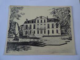 DOUBLE CARTE MAXI Estampe Hotel De Castries Rue De Varenne à PARIS  TBE - Autres Collections