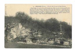 Druyes  -  L'entrée Des Grottes De Saint Romain - 313 - France