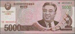 TWN - NORTH KOREA CS17b - 5000 5.000 Won 2008 (2012) 100th Ann. Kim Il Sung's Birthday - Prefix ㄱㅇ UNC - Corea Del Nord