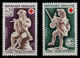 FRANKREICH 1967 Nr 1607-1608 Postfrisch X88E16A - Unused Stamps