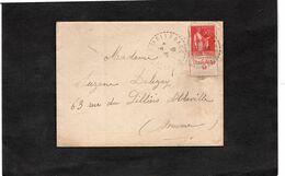 LAC 1935 - Cachet Perlé Sur Type Paix Avec Bande De Pub - YT 283 Publicité VALISERE - 1921-1960: Periodo Moderno