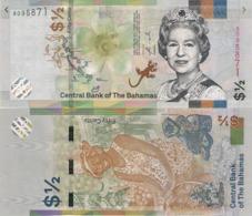 BAHAMAS, 1/2 Dollar, 2019, P-NEW, Prefix A, UNC - Bahamas
