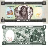 ERITREA, 1 NAKFA, 1997, P1, UNC - Eritrea