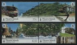 Pitcairn 2016 - Mi-Nr. 975-978 ** - MNH - Landschaften / Landscapes - Pitcairn