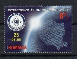 Romania 2015. 25 Years Romanian Intelligence Service   MNH - 1948-.... Republiken