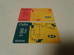 Cameroun -  2 Nice Phonecard - Télécartes