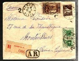 36162 - RECOMMANDE A.R. POUR LA FRANCE - Covers & Documents