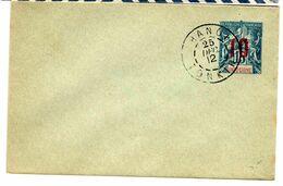 36184 - Entier Avec Surcharge - Briefe U. Dokumente