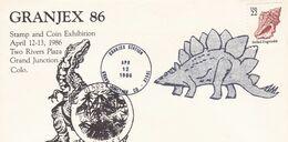 USA Cover Dinosau - Prehistorics