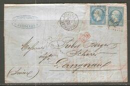 Lettre De 1863 ( France ) - 1862 Napoleone III