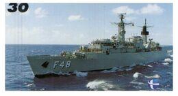 (G 21) Brazil -  F48 Warship - ネコ -Carte Tephone / Phonecard / Telefonkarte / Carta Telefonica / Tarjeta Telefónica - Army