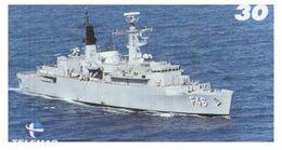 (G 21) Brazil -  F46 Warship - ネコ -Carte Tephone / Phonecard / Telefonkarte / Carta Telefonica / Tarjeta Telefónica - Army