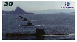 (G 21) Brazil -  Submarines - ネコ -Carte Tephone / Phonecard / Telefonkarte / Carta Telefonica / Tarjeta Telefónica - Army