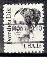 USA Precancel Vorausentwertung Preo, Locals Pennsylvania, Mont Alto 841 - Prematasellado