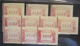 Österreich ATM  Frama Wipa 2000, 10 Werte Postfrisch (61219) - Austria