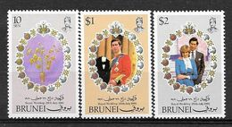 Brunei N° 268/70 YVERT  NEUF ** - Brunei (1984-...)