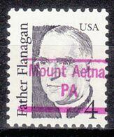 USA Precancel Vorausentwertung Preo, Locals Pennsylvania, Mount Aetna 843 - Prematasellado