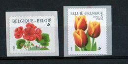Année 1999 : 2854-2855 ** - Timbre En Rouleaux - Géranium Et Tulipe - Unused Stamps