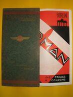 AVIATION CIVILE :  Lignes Farman  Paris  Cologne    Berlin 1929 - Europa