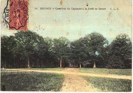 Carte POSTALE Ancienne De  BRUNOY - Carrefour Du Capitaine A La Foret De SENART - Brunoy