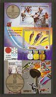 Guinée Equatoriale - Jeux Olympiques De Sapporo 1972 - Petit Lot De 3 Blocs° - Kilowaar (max. 999 Zegels)