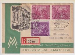 DDR. FDC . Mi.-Nr.  248-249 Als R-Fernbrief Gelaufen. - FDC: Covers