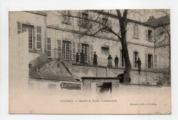 - CPA COUDES (63) - Mairie Et Ecole Communale 1909 - Edition Roussel - - France