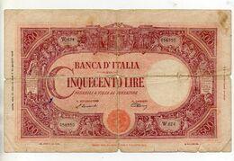 500 Lire Barbetti - Testina - B. I. - Decreto 22 Luglio 1946 - R 3 - (FDC24517) - [ 2] 1946-… : Repubblica