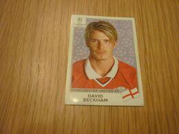 David Beckham Panini Rookie Sticker Card Manchester Utd Champions League 1999 - Panini