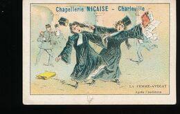 Chapellerie Nicaise  -- Charleville -- La Femme - Avocat -- Apres L'audience - Andere