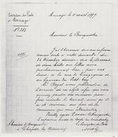 Chapelle Lez Herlaimont - Copies - Lettres 4/3/1897 Et 6/4/1897 Pour Placement Boîtes  Rue De Trazegnies Et Petit Gouy - Historische Dokumente