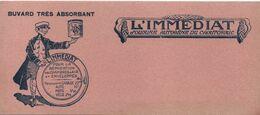 Buvard Ancien/ Réparation Des Chambres à Air/Soudure Autogéne Cahoutchouc /L'immédiat/Auto-Moto-Vélo/Vers1930-50  BUV460 - Automotive