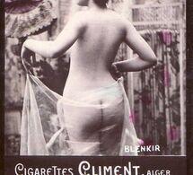 LOT Photographies Publicitaires Pour Les Cigarettes CLIMENT à Alger : Nus Ou Semi-nus - Ancianas (antes De 1900)