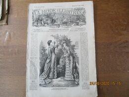LA MODE ILLUSTREE DU 7 MAI 1882 SANS PATRONS - Fashion