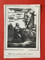 Image Pieuse Anno 1845 - LITHO Doodsprentje Décés - VEESAERT INGHELS Selzaete Zelzate Westdorpe - 8.5 Cm X 5.5 Cm - Andachtsbilder