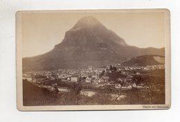 Y14990/ Glarus Mit Glärnisch Kabinettfoto  Photograph Richard, Maenedorf Ca.1880 - Sin Clasificación